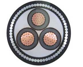 交联聚乙烯绝缘中压电力电缆